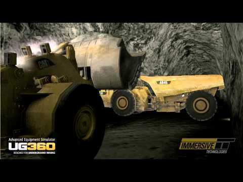 Immersive Technologies - UG360 Advanced Equipment Simulator For Underground Mining
