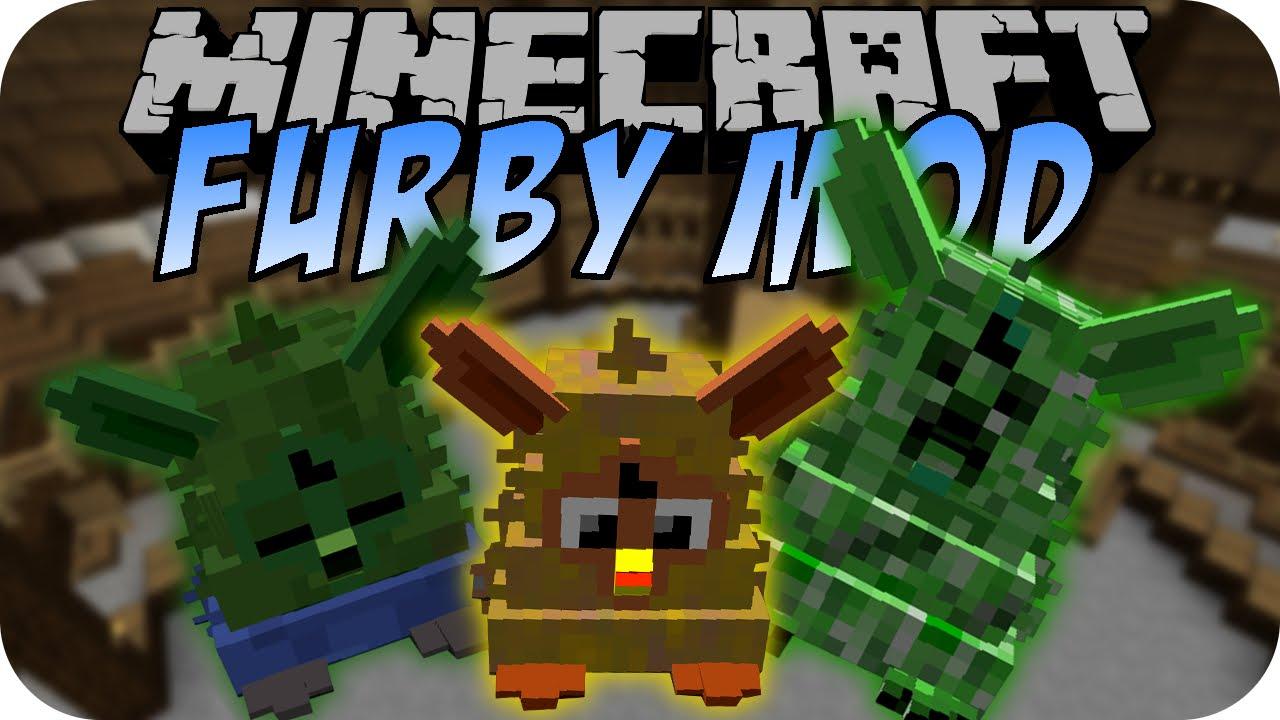minecraft furby mod creeper furby wither furby deutsch
