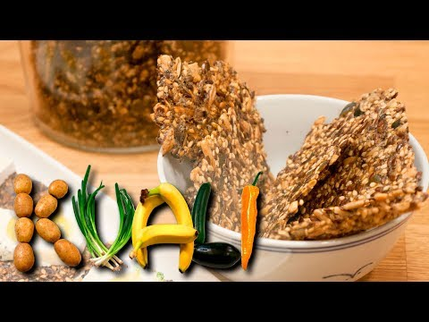 Nordic Seed Crackers - The Best Crispbread I Know - LCHF