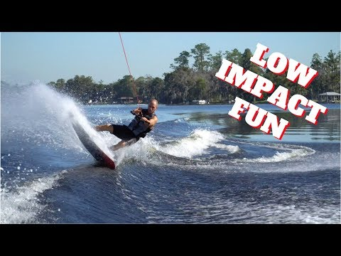 Low Impact Wakeboarding Good Times