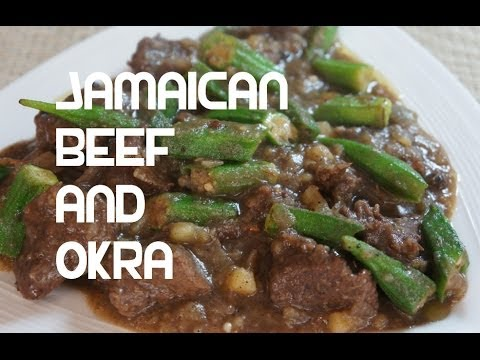 Jamaican Beef & Okra Recipe - Ladies Fingers