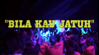 HUJAN - BILA KAU JATUH featuring IJAM RESTRAINT [ OFFICIAL LYRIC VIDEO ]