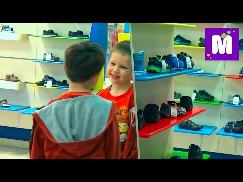 VLOG Шоппинг в детском магазине обуви Киддитоп Shopping in the children's shoe store Kidditop