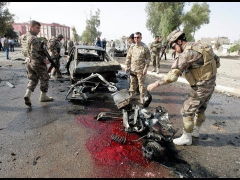 Iraq violence: Wave of deadly car bombs targets Shias