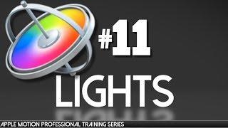 Ultra AV tarafından 11 Apple hareket Işıkları ve Gölgeler - Apple Motion Mesleki Eğitim-