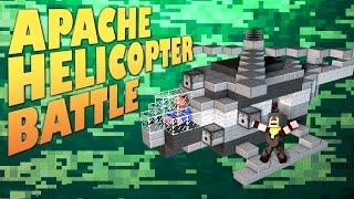 Minecraft Mods ★ APACHE HELI BATTLE ★ Crazy Craft 2 [Ep.11]