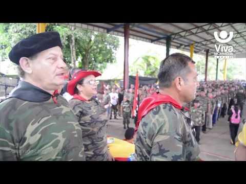Nace El Batallón De La Paz En El Caribe Sur De Nicaragua
