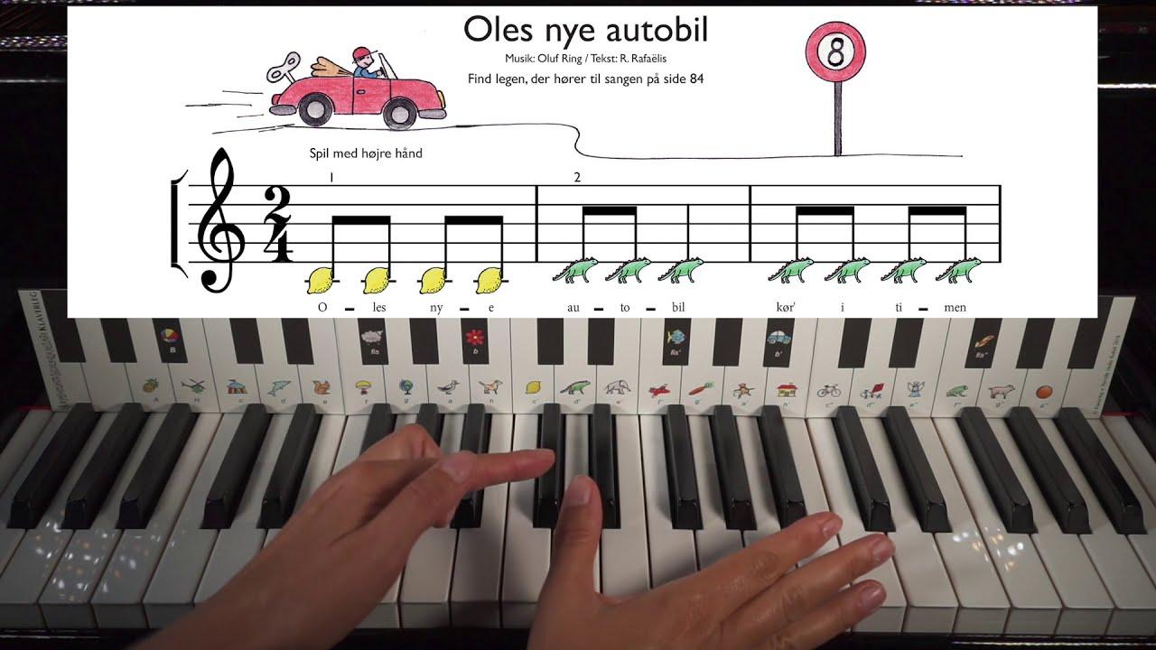 Introduktion til Klaverleg bind 1. Lær at spille klaver