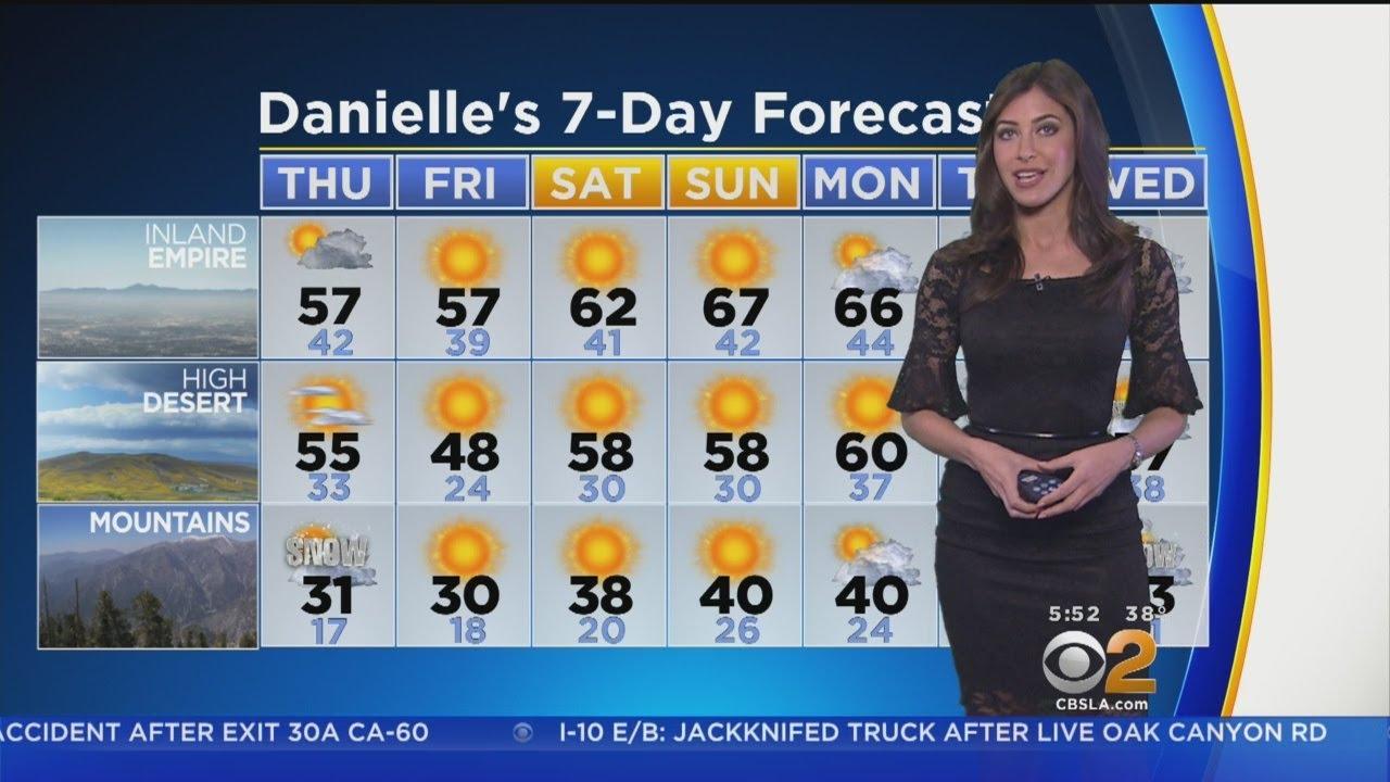 Danielle Gersh's Weather Forecast (Feb. 22)