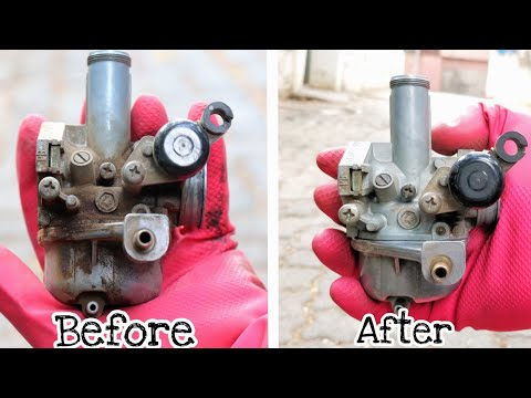 How to clean carburettor properly for all motorcycles and scooters