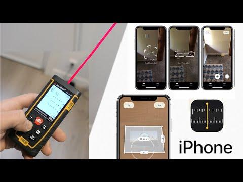 Comparo El Medidor Del IPhone Con Un Láser Profesional