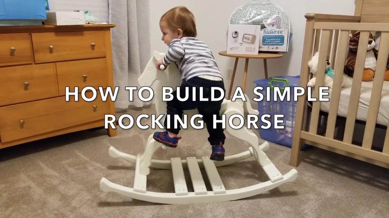DIY Rocking Horse - YouTube
