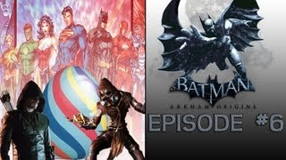 "Batman: Arkham Origins Episode #6 | Cameo's & Easter Eggs ""Scarecrow"""