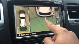 Volkswagen Touareg Area View camera