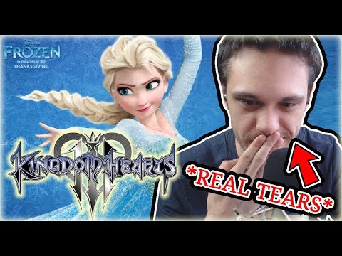 KH3 Frozen Trailer LIVE REACTION *Crying*