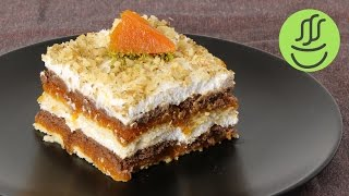 Balkabaklı Pasta Balkabağı Pastası Bisküvili Balkabağı Tatlısı