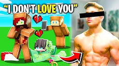 So I CAUGHT My Ex WIFE's BOYFRIEND Cheating with SECRET GIRLFRIEND After FACE REVEAL! (Minecraft)