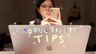 how to be productive while procrastinating! (productivity tips!)