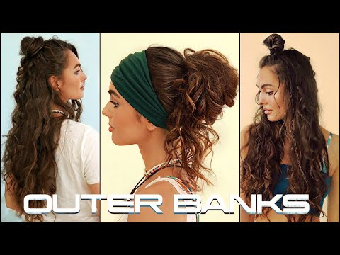 Boho SUMMER HAIRSTYLES | OUTER BANKS Hair Tutorial