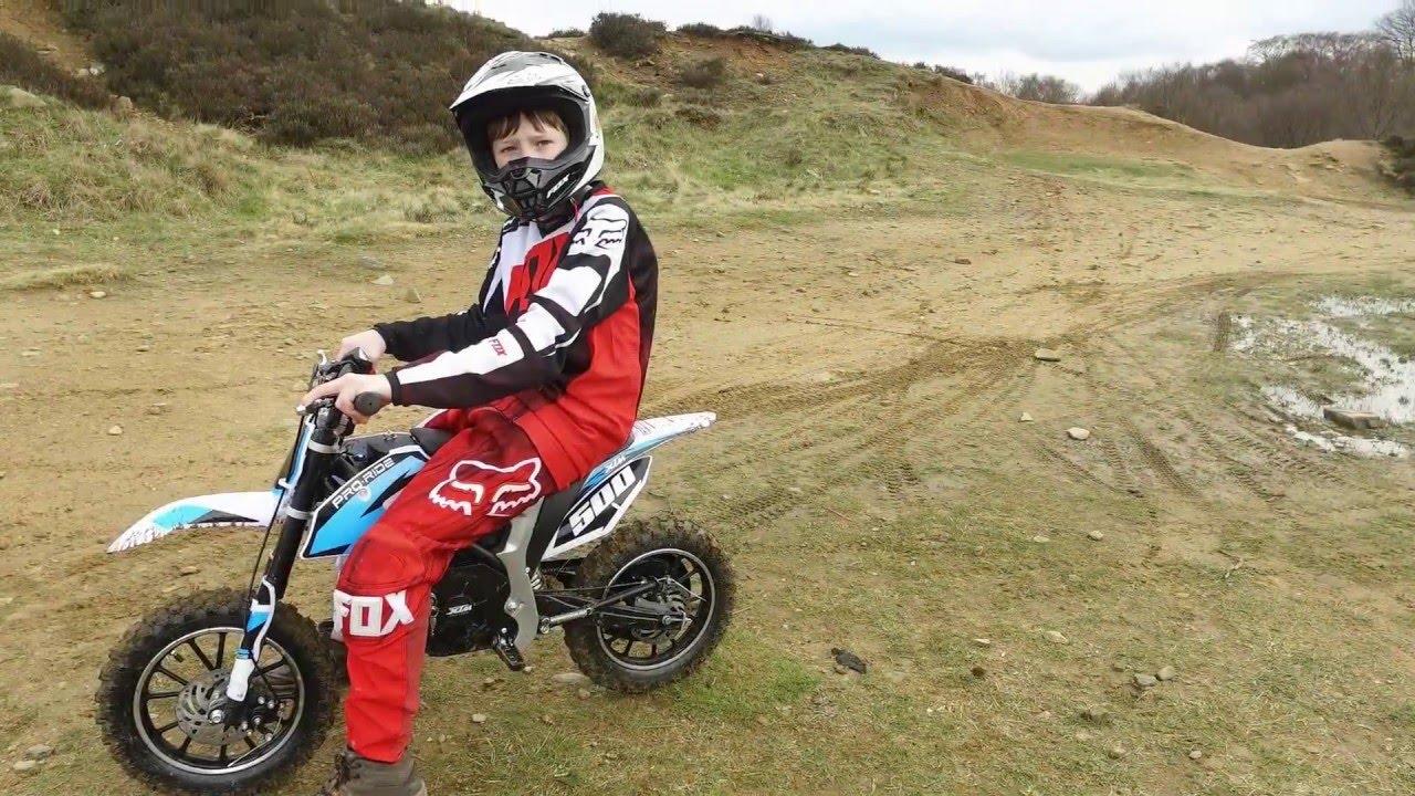 Kids Xtreme Pro Rider Electric Dirt Bike Off Road Test