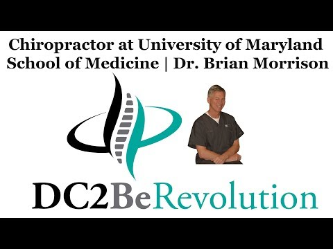 Dr. Brian Morrison  Chiropractor at University of Maryland School of Medicine