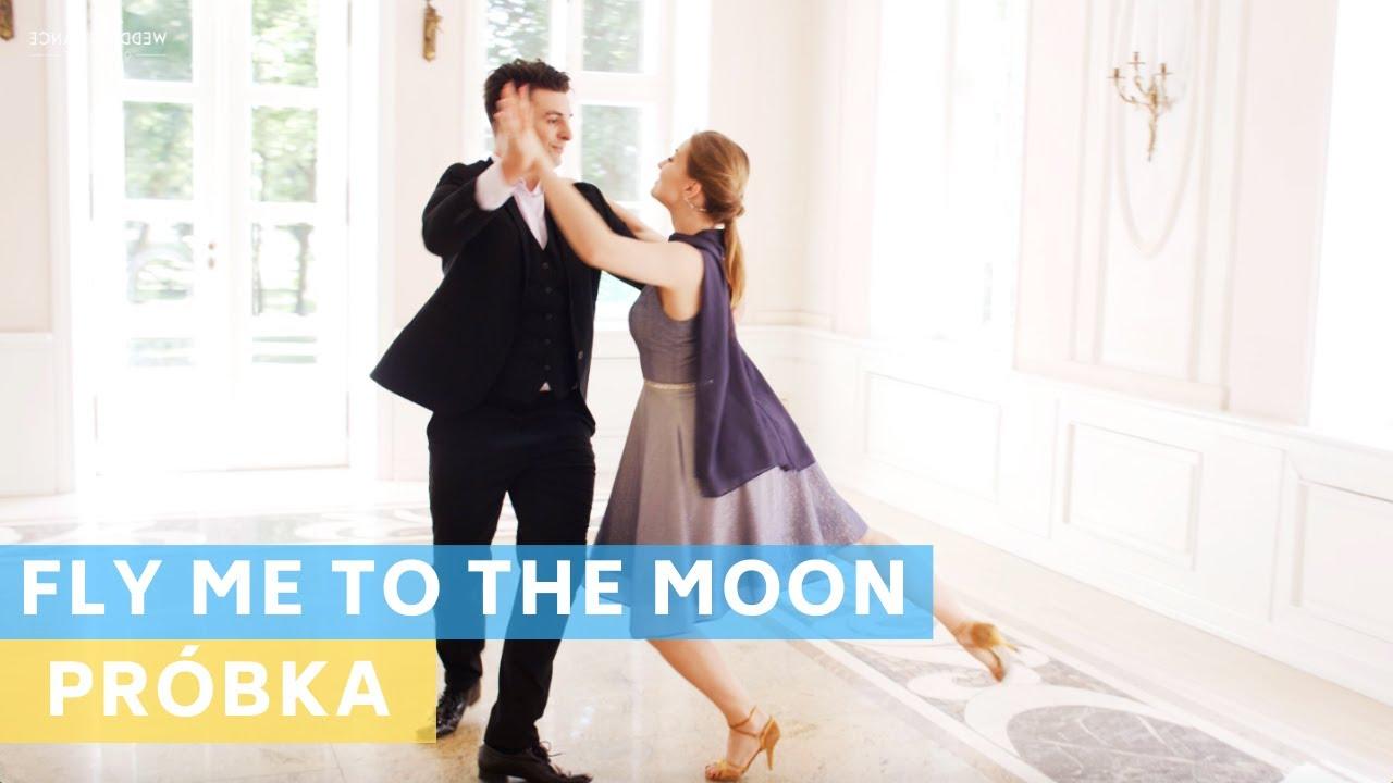 Sample Tutorial PL : Fly Me to the Moon - Frank Sinatra | Foxtrot | Wedding Dance Choreography |