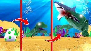 MOSASAURUS LIFE CYCLE! (Roblox Dinosaur Simulator)