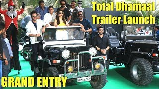 Total Dhamaal Star Cast GRAND Entry Ajay Devgn Anil Kapoor Madhuri Dixit Arshad Warsi