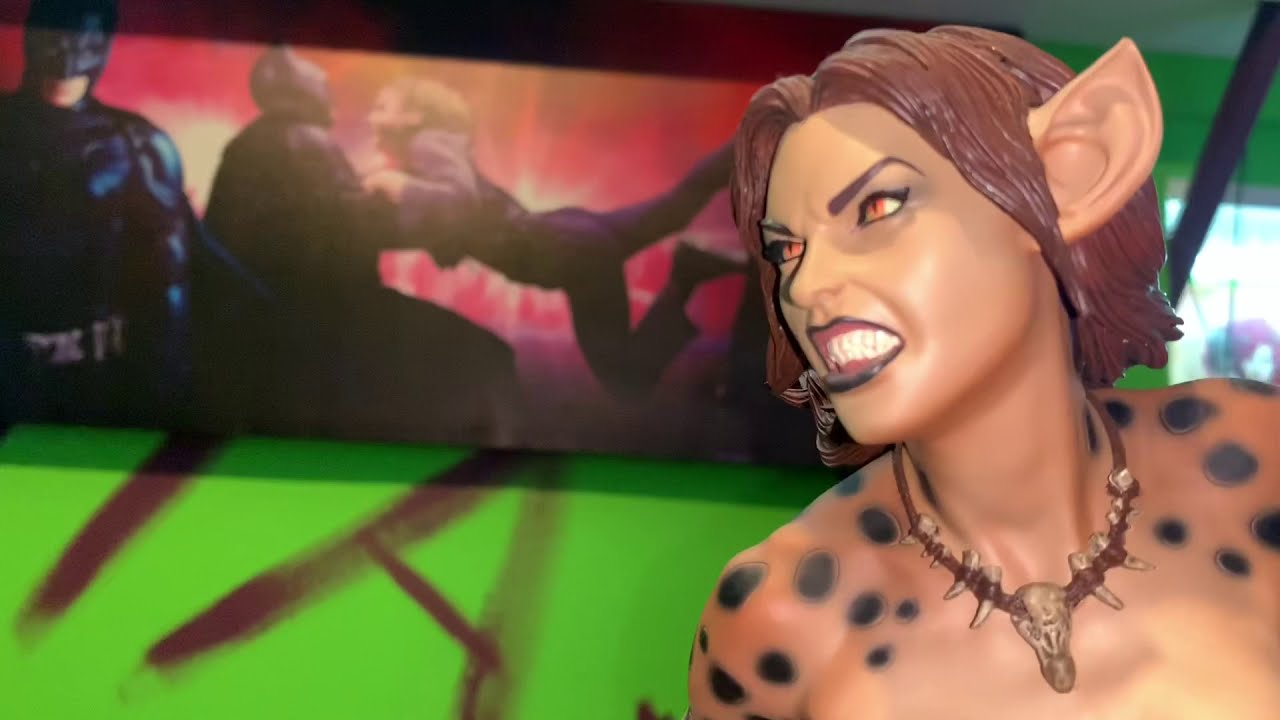 Cheetah Premium Format Figure by Sideshow Collectibles. Review & Unboxing