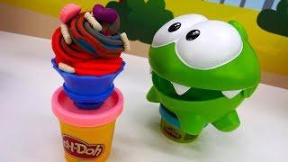 Игры Ам Няма - Мороженое из пластилина.