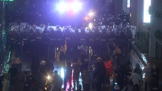 Thai police disperses anti-royal protesters with water cannons