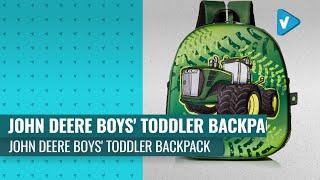 Great John Deere Boys& 39 Toddler Backpack 2019 Happy New School Year