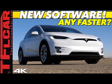 Did A Recent Software Update Make The Tesla Model X Faster?  Adventure X Ep.11