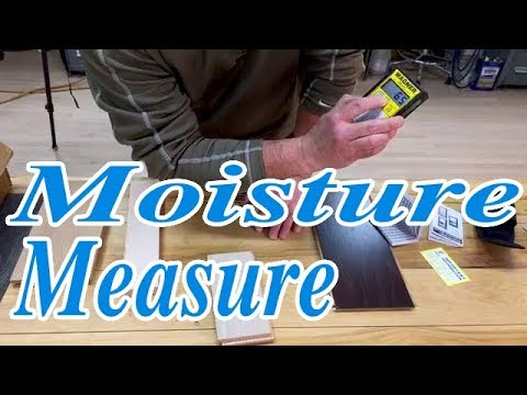Moisture Metering LIVE Delmhorst, Wagner Relative Humidity Test On Wood Floors