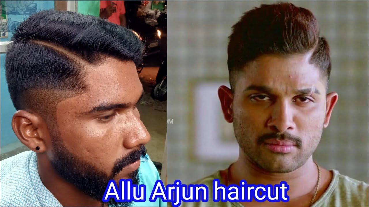 💇♂️hair cutting series 15 Allu Arjun hair cutting