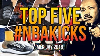 Top 5 Sneakers Worn in the NBA on MLK Day