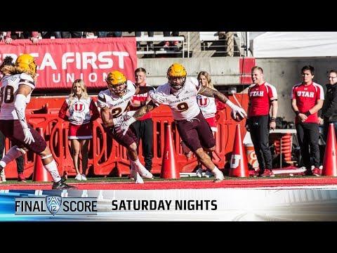 Highlights: Arizona State football capitalizes on turnovers to power past Utah
