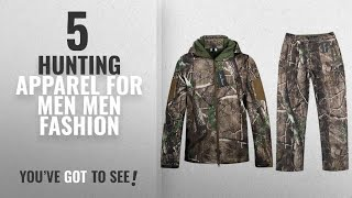 Top 10 Hunting Apparel For Men [Men Fashion Winter 2018 ]: Hunting Jackets Waterproof Hunting
