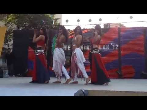 Belly Dance by Indian College Girls