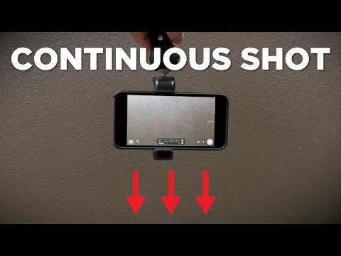 How To Create a Continuous Shot Effect