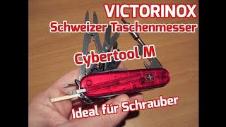 Victorinox Cybertool M - Ideales Taschenmesser für Elektroniker & Schrauber