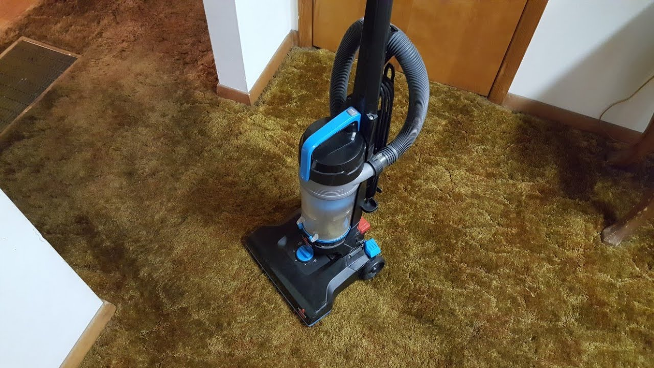 Bissell Powerforce Helix 1700 Bagless Upright Vacuum 2016 Youtube