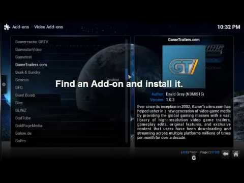 how to add kodi youtube to play list