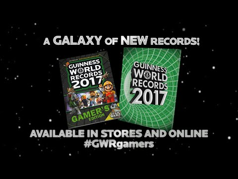 Guinness World Records 2017 Gamer's Edition Is Out Now!