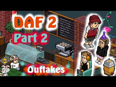 THIS GUY IS A LEGEND!!!! - Outtakes from Dave And Friends 2 (Habbo)