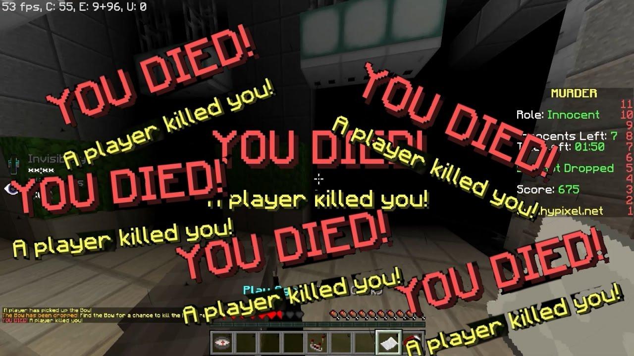 Minecraft Murder Mystery | Hypixel - Minecraft Server and Maps