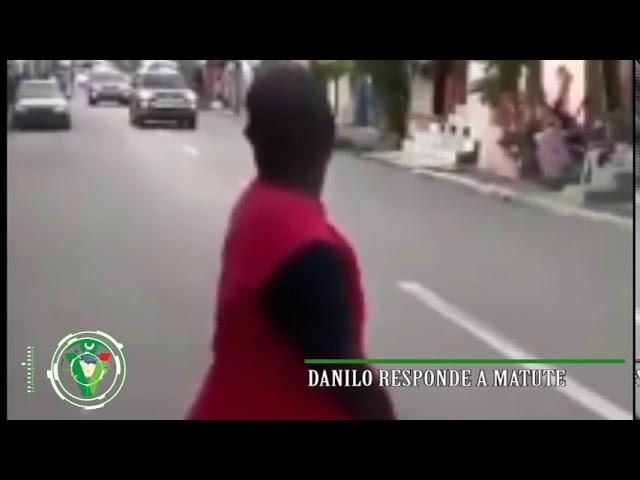 Danilo responde a Matute