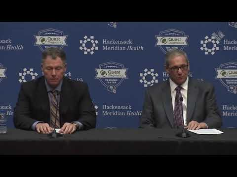 Dave Gettleman and  Pat Shurmur discuss  Will Hernandez  No. 34 overall pick