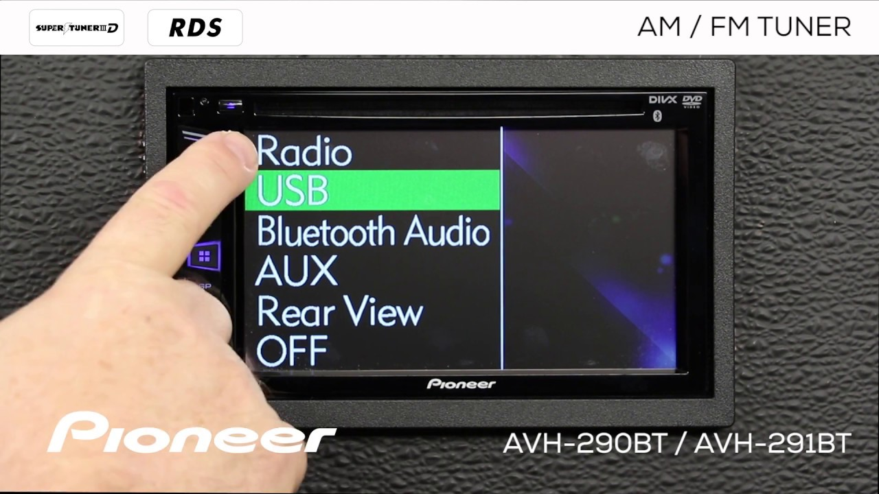 maxresdefault how to am fm radio pioneer avh 290bt, avh 291bt, mvh av290bt  at eliteediting.co