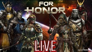 For Honor Live Stream! #2 Gladiator and #1 Highlander on Xbox